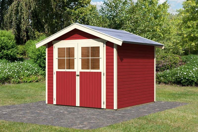 garten gestalten mit der farbe rot von beet zu gartenhaus. Black Bedroom Furniture Sets. Home Design Ideas