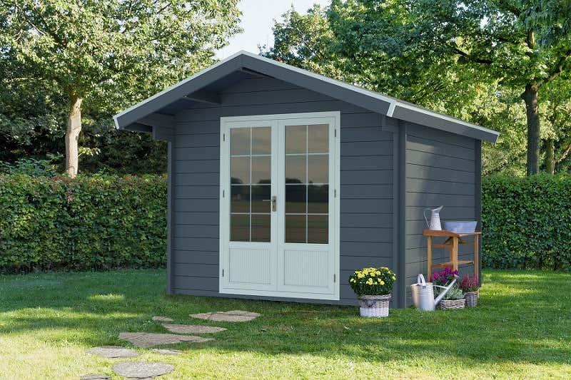 gartenhaus aus stein f r wen es sich eignet und lohnt. Black Bedroom Furniture Sets. Home Design Ideas