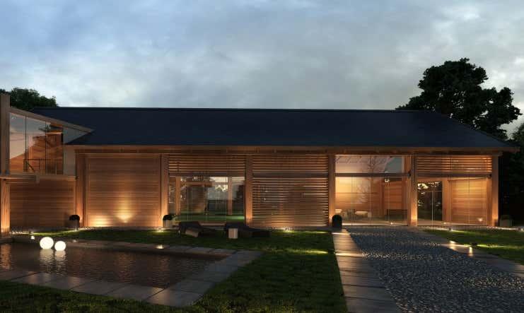 indirekte beleuchtung f r ihr gartenhaus die besten tipps. Black Bedroom Furniture Sets. Home Design Ideas
