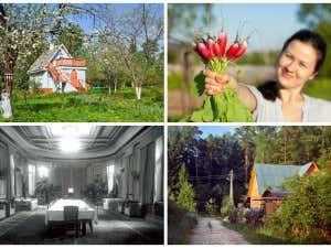 russisches Freizeithaus Datscha