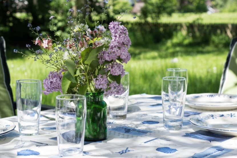Dekoration Gartenparty