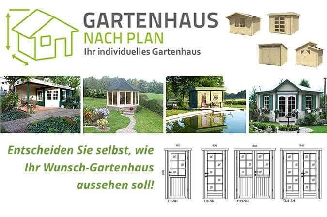 Gartenhaus-Konfigurator: 9 Schritte zum Gartenhaus nach Maß