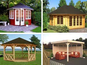 Palmako Pavillon - eine Auswahl