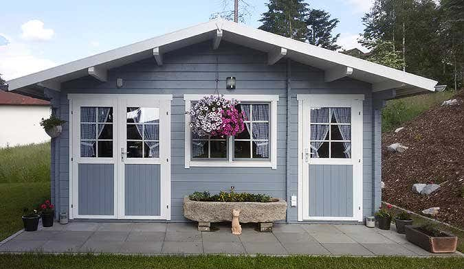 gartenhaus nevis 44 iso aufbau und einrichtung. Black Bedroom Furniture Sets. Home Design Ideas