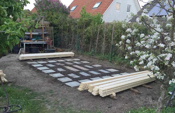 fundament gartenhaus rasengitterstein my blog. Black Bedroom Furniture Sets. Home Design Ideas