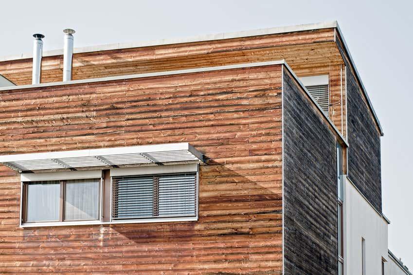 Nachhaltiges Holzhaus