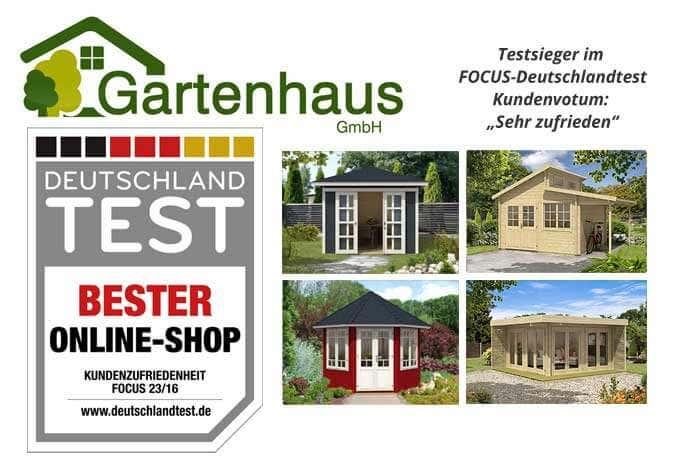 "Gartenhaus GmbH ist ""Bester Online Shop"
