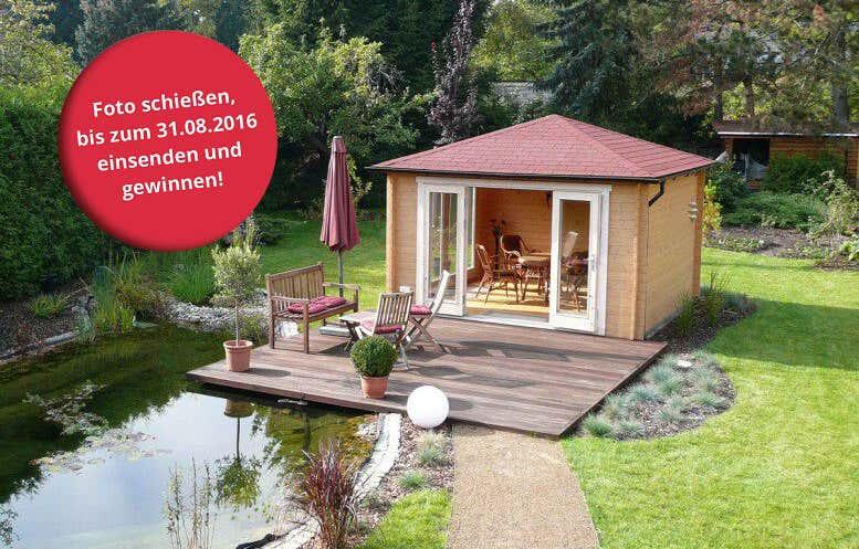 Schönstes Gartenhaus gesucht: Unser 1. Fotowettbewerb 2016 startet!