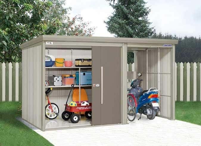 Gerätehaus aus Metall: Mehr Stauraum für Ihre Gartengeräte
