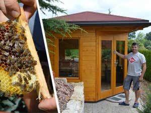 Gartenpavillon als Bienenhaus