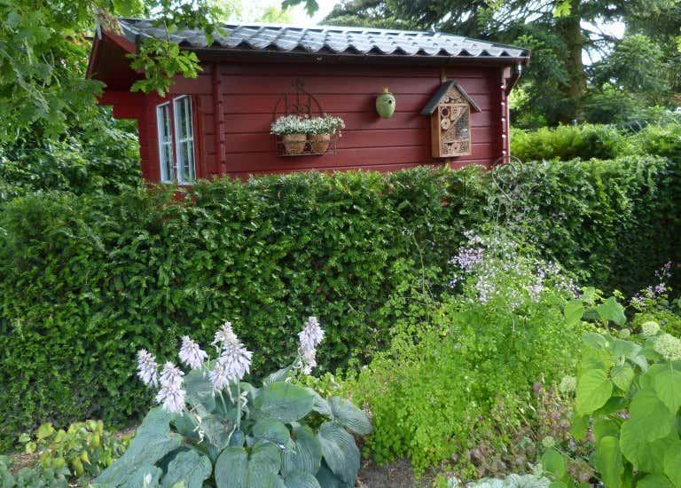 Garten Neu Anlegen Mit Gartenhaus
