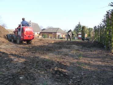Garten Neu Anlegen Und Grundstück Planieren