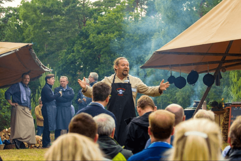 Outdoor Cooking Workshop mit Frank Eckardt