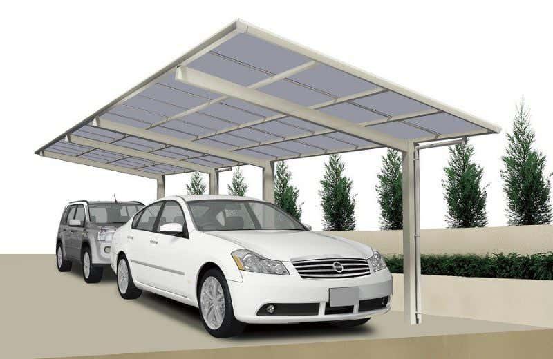 warum ein carport aus metall das sind die vorteile von aluminium. Black Bedroom Furniture Sets. Home Design Ideas