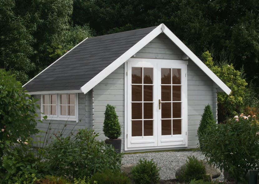 Hervorragend Ein skandinavisches Gartenhaus in Ihrem Garten: 3 Dekoideen FE68