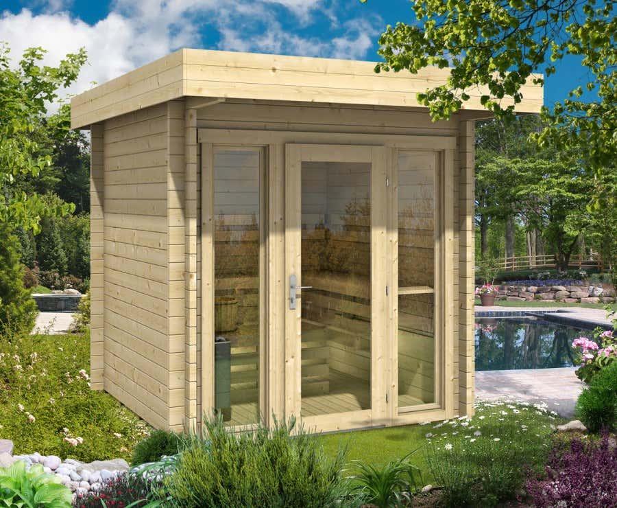 eine sauna f r den garten welche sauna ist die richtige. Black Bedroom Furniture Sets. Home Design Ideas