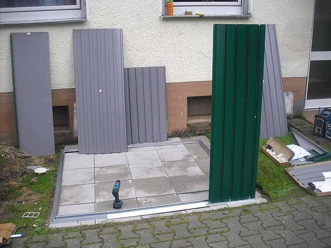 Ger teschuppen einrichten ihre gartenger te clever verstauen for Kleines gartenhaus metall