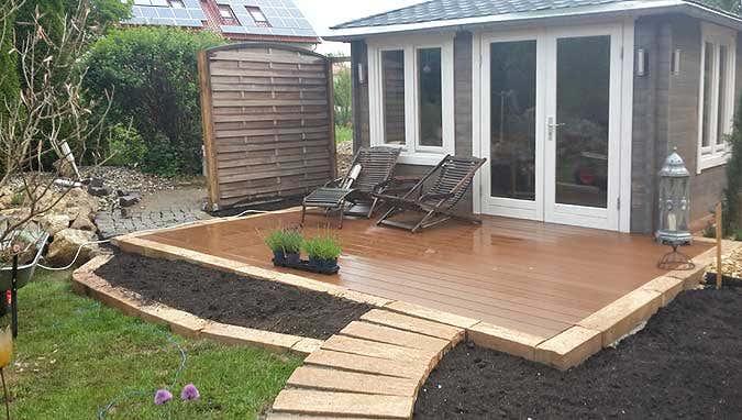 Gartenhaus Lillehus 40 ISO: Aufbau, Einrichtung und Terrasse