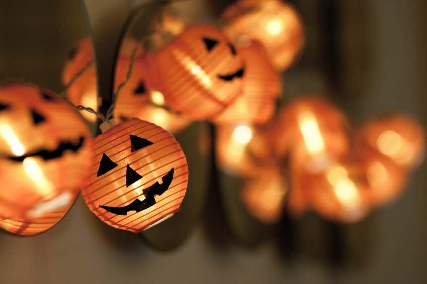 schöne Lichterketten zu Halloween