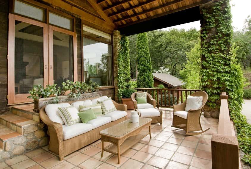 Genial Bepflanzte Terrassenüberdachung