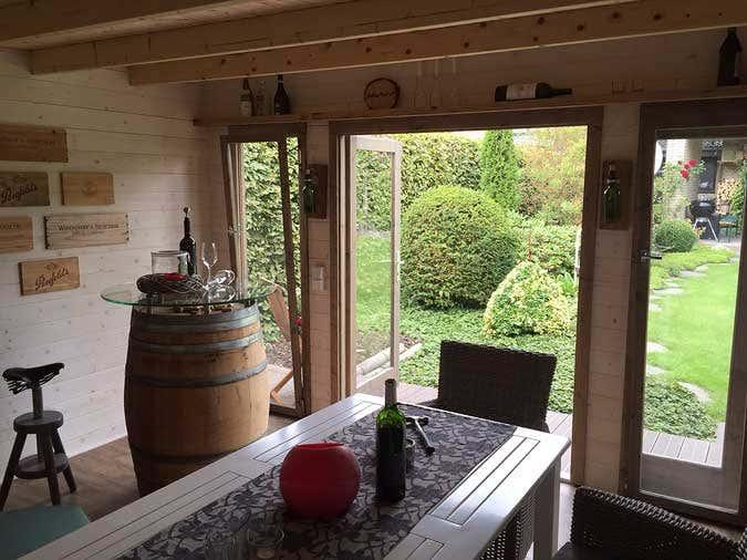 Ideen f r ihr gartenhaus unsere 10 sch nsten kundenprojekte - Gartenhaus ideen ...