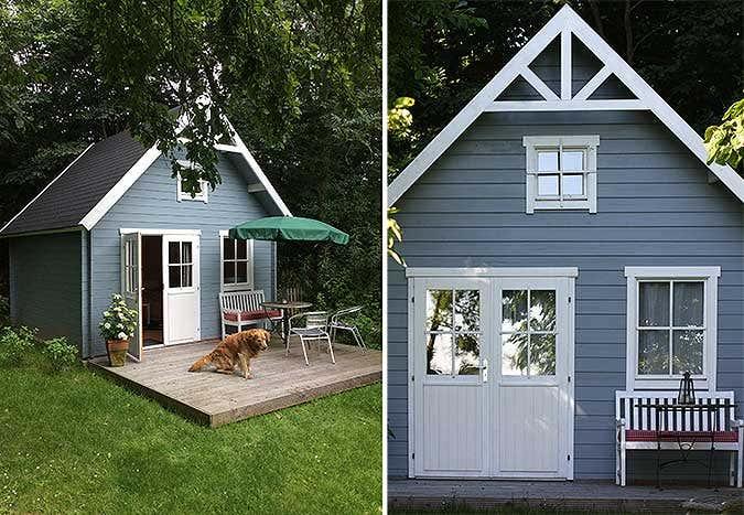 ideen f r ihr gartenhaus unsere 10 sch nsten kundenprojekte. Black Bedroom Furniture Sets. Home Design Ideas
