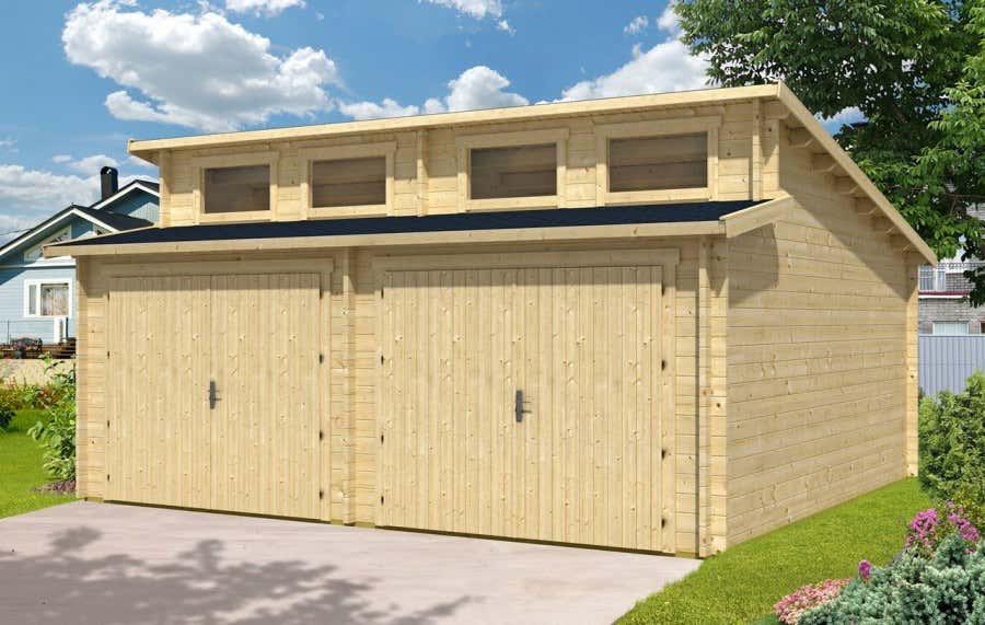 Eine Garage bietet Schutz