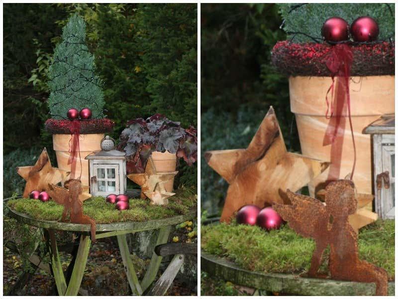 Weihnachtsdeko für draußen: Kreative Ideen zum Selberbasteln