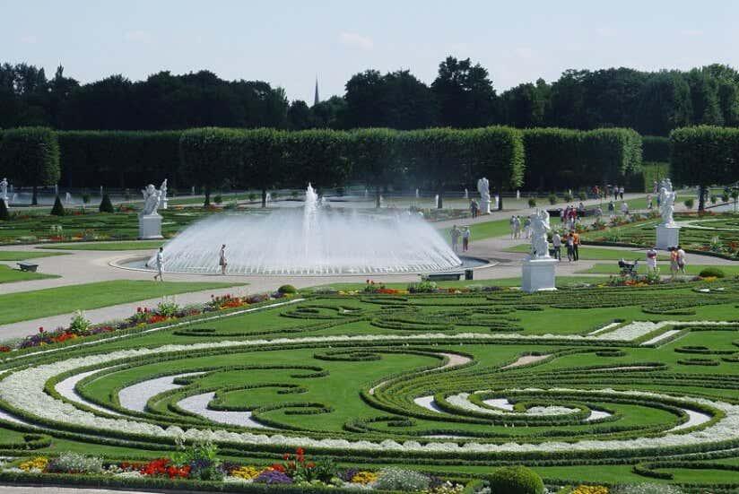barocke Gartenanlage in Hannover