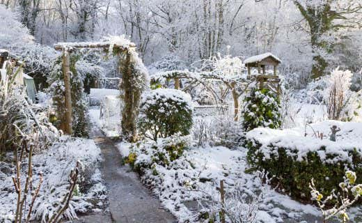 Gartenhaus magazin ihr ratgeber f r garten haus - Garten im winter ...