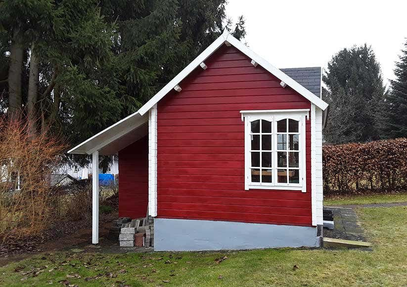 Berühmt Clockhouse mit Anbau im Selbstbau - so toll kann es aussehen ZC52