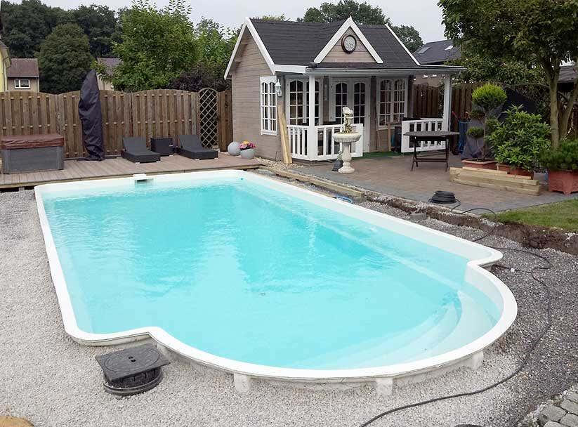 clockhouse holzterrasse pool aufbaustory in fotos. Black Bedroom Furniture Sets. Home Design Ideas