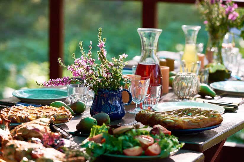 Vegetarische Sommerküche Rezepte : Sommerrezepte aus dem eigenen garten zum nachmachen