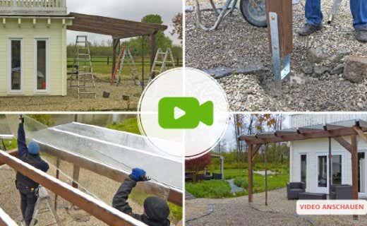 Aufbauvideo Terrassenüberdachung Premium: Schritt Für Schritt Anleitung