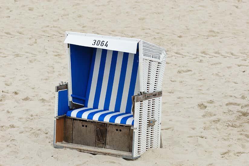 Super Strandkorb im Garten: Tipps zur Aufstellung, Pflege & Deko #AH_25