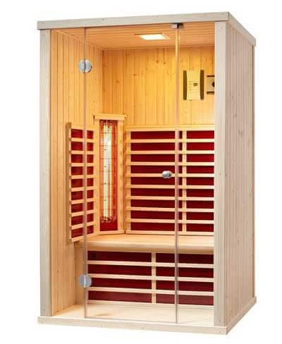 gartenhaus mit infrarotkabine sauna mal anders. Black Bedroom Furniture Sets. Home Design Ideas