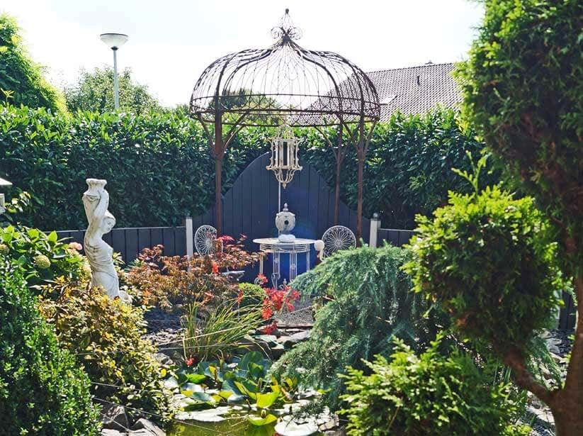 Pavillon am Gartentei
