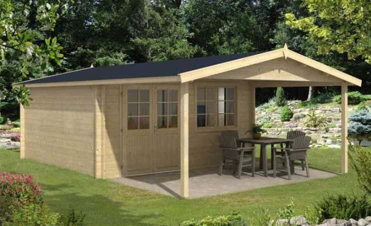 vordach ja oder nein alles wichtige zum vordach planen. Black Bedroom Furniture Sets. Home Design Ideas