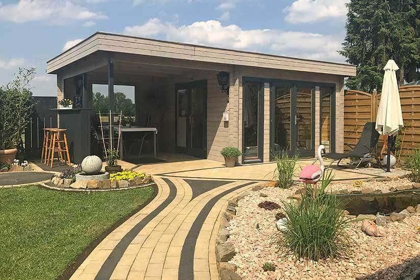 Gartenhaus Corsica 44 ISO: Individuell Durch Tresen Und Extra Fenster