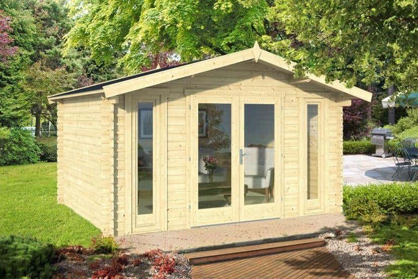 Mini gartenhaus 11 kleine gartenh user ganz gro for Gartenhaus modern einrichten