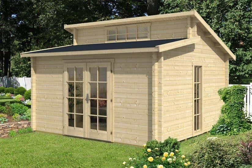 Gartenhaus Mini mini gartenhaus 11 kleine gartenhäuser ganz groß