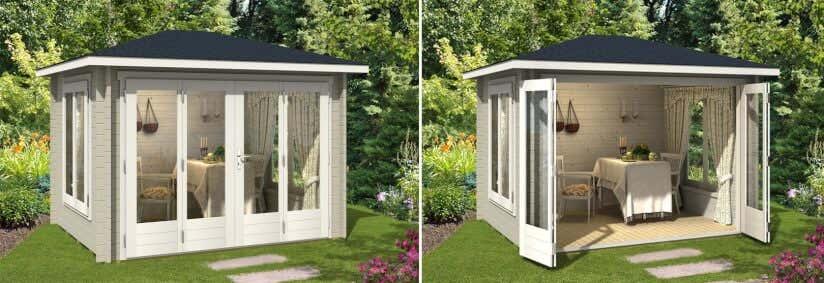 Mini Gartenhaus 11 Kleine Gartenhäuser Ganz Groß