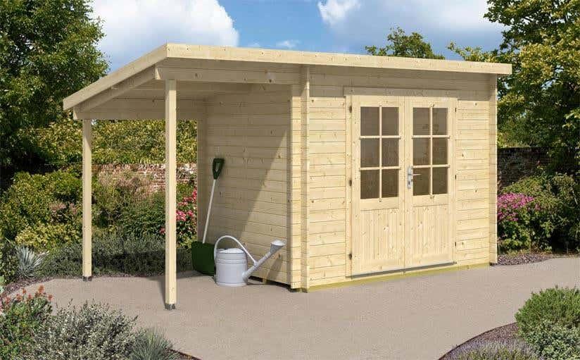 mini gartenhaus 11 kleine gartenh user ganz gro. Black Bedroom Furniture Sets. Home Design Ideas