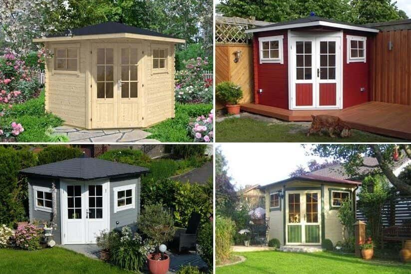 gartenhaus f r schrebergarten das richtige kleingartenhaus. Black Bedroom Furniture Sets. Home Design Ideas