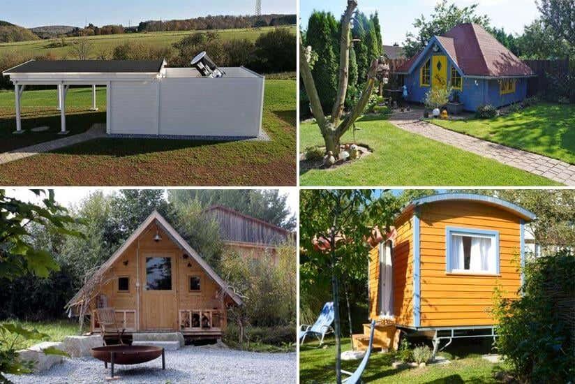 10 ausgefallene Gartenhäuser