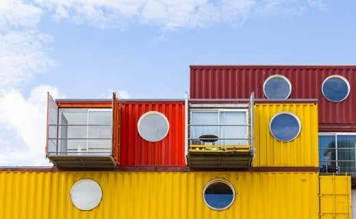 Alles zum thema originelle gartenh user gartenhaus magazin - Container als gartenhaus ...