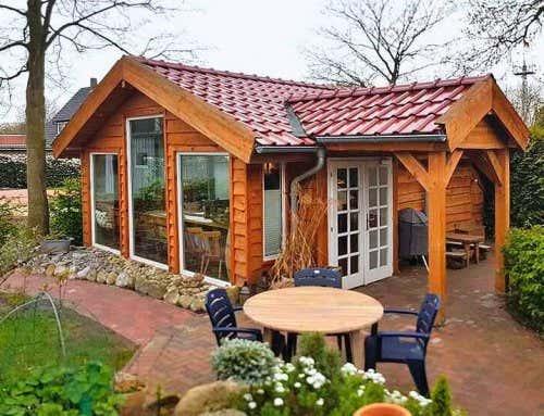 Gartenhaus montana 44 refugium als wohn und partyhaus - Party gartenhaus ...