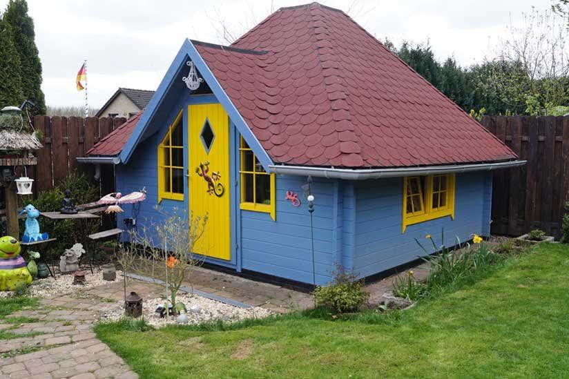 Hervorragend 10 ausgefallene Gartenhäuser EE62