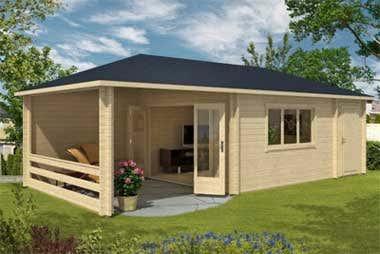 gartenhaus montana 44 refugium als wohn und partyhaus. Black Bedroom Furniture Sets. Home Design Ideas