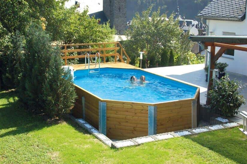 swimmingpool im garten alles was sie zu gartenpools. Black Bedroom Furniture Sets. Home Design Ideas